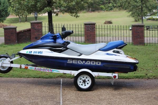 Photo 2000 Seadoo GTX 1000 - $2,500 (Hot Springs National Park)