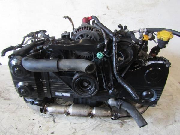 Photo 2001-2005 JDM SUBARU IMPREZA WRX STI EJ20 TURBO ENGINE - $700 (Houston)