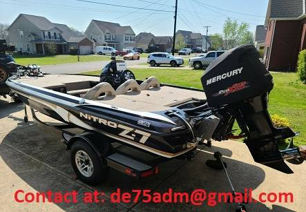 Photo 2013 Nitro FishSki Boat for Sale - $1800