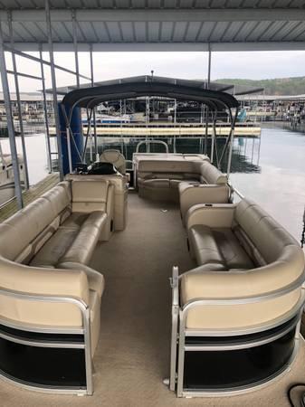 Photo 2014 Lowe SS250 pontoon Tritoon - $26,500 (Heber Springs AR)
