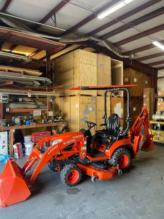 Photo 2019 Kubota Bx23s Belly Mower Tractor Loader Backhoe 4x4 Hst - $18,900 (Conway)