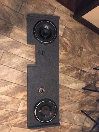 Photo 2 10 Rockford fosgate subs - $400 (Bradford AR)