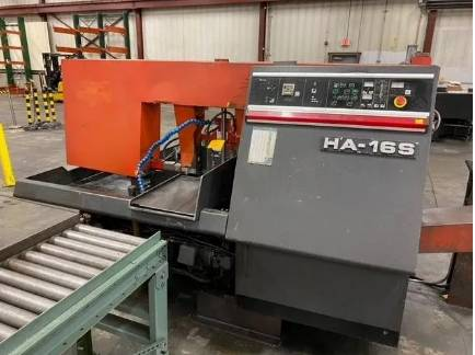 Photo AMADA HA16S HORIZONTAL AUTOMATIC SAW - $7,900 (little rock)