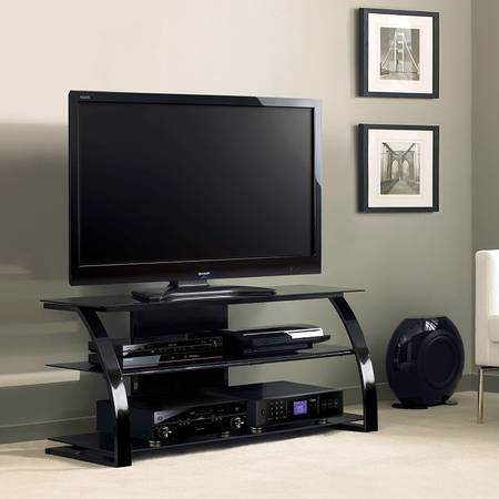 Photo Brand New - 55quot Flat Panel AV Television Console - Black - Bell39O - $125 (Jacksonville)