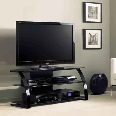 Photo Brand New - 55quot Flat Panel AV Television Console - Black - Bell39O - $125 (Jacksonville)