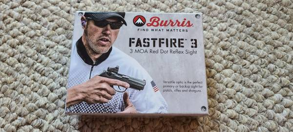 Photo Burris Fastfire III Red Dot with Taurus G2C mount - $200 (Hot Springs Village)