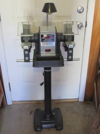 Craftsman Vintage 1hp 8 Bench Grinder Tool Bench Grinder Stand Nice 770 Jacksonville Ar Tools For Sale Little Rock Ar Shoppok