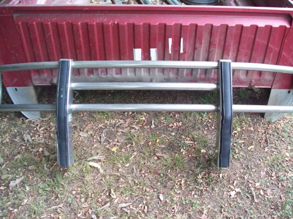 Photo DODGE RAM HEAVY DUTY GRILL GUARD PUSH BAR - $150 (Guy, Arkansas)