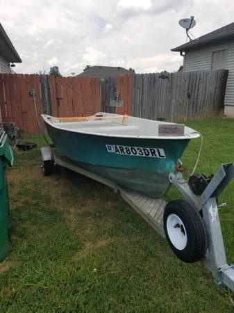 Photo Fishing Boat - Great Deal - Perfect Working Order - $1,500 (Cabot, AR)