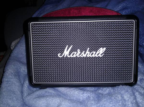 Photo Great rechargeable Marshall blue tooth speaker - $175 (Little Rock Air Force Base)