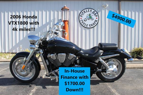 Photo IN-HOUSE FINANCING ON SELECT MOTORCYCLES (CONWAY)