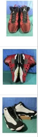 Photo Jordan shoes mens size 13 - $60 (Sherwood)