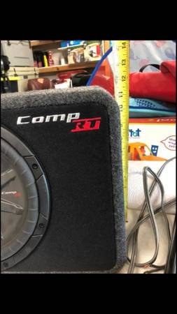 Photo Kicker comp RT with Amp - $250 (Russellville and Hot springs)