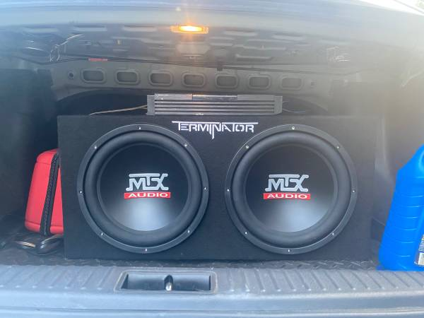 Photo MTX 12in Subs and Planet Audio Amp - $100 (Pine Bluff)