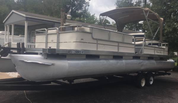 Photo Pontoon Boat for Sale - $7,000 (Higden)