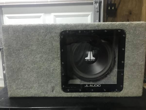 Photo Rare Old School JL Audio Speaker Box - $100