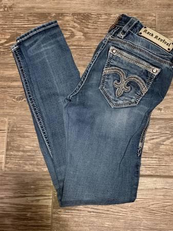 Photo Rock Revival Jeans - $225 (Benton)
