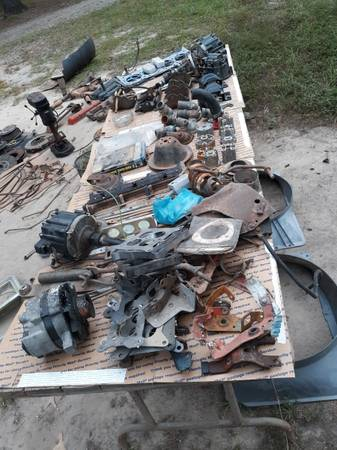 Photo SBC first gen OLD CAR GUY STUFF Fabricator EVERYTHING IN PICTURE $100.oo - $100 (Bigelow)