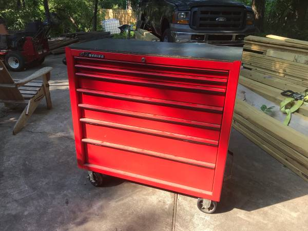 Photo Snapon KRB1007A Snap-On Tool Chest Box Roll Cab - $1,000 (Oklahoma City)