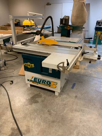 Photo Table Saw w Sliding Table - $3,000 (North Little Rock)
