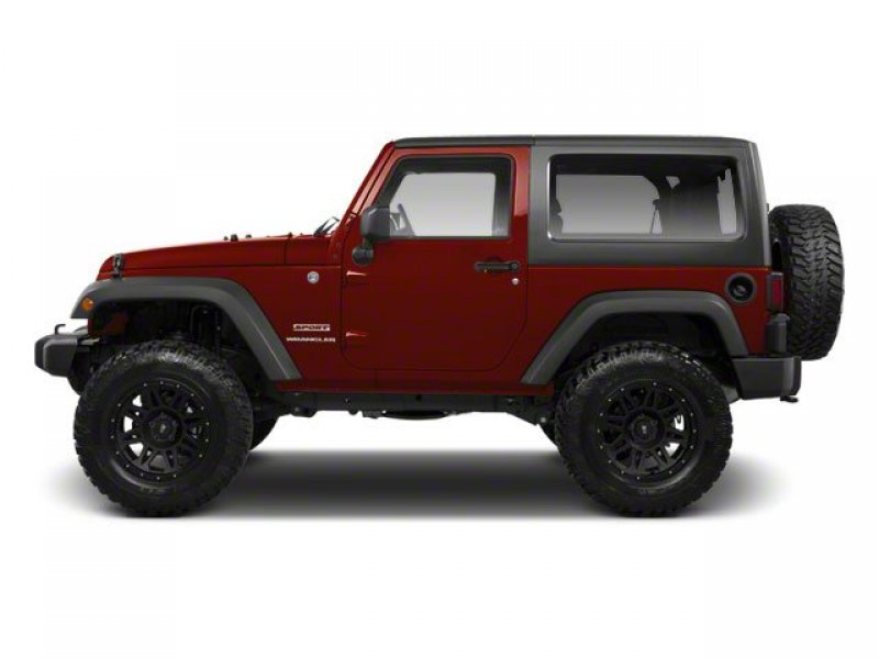 Photo Used 2010 Jeep Wrangler 4WD Rubicon w Dual Top Group for sale