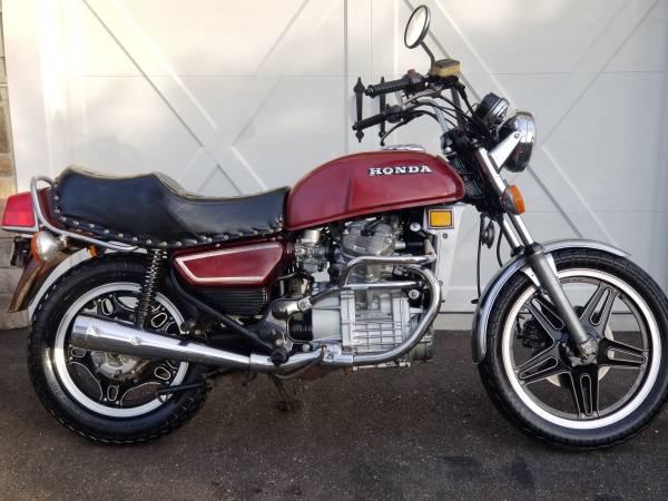 Photo 1980 Honda CX500 CX500D Deluxe Original Condition Rare - $1,800 (Locust Valley)