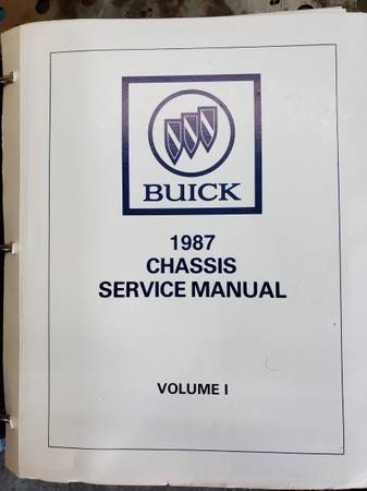 Photo 1987 Buick Chassis Manual - $35 (Selden)