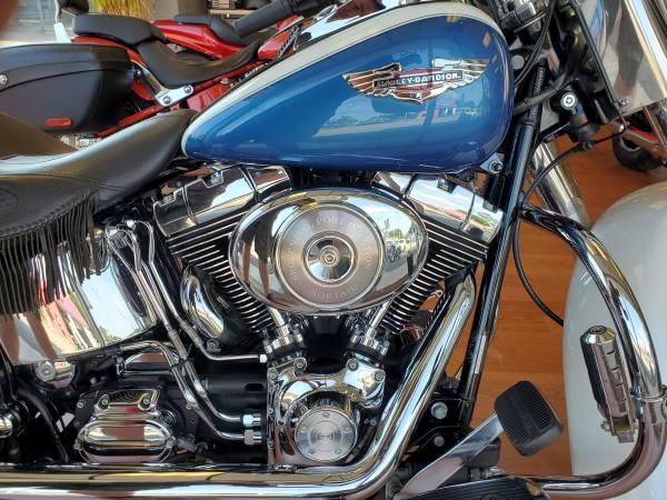 Photo 2005 Harley Davidson FLSTN Softail Deluxe - $8,495 (Port Jefferson Station NY)