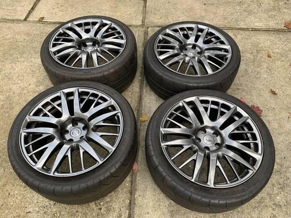 Photo 2007-2020 Nissan GTR OEM 20quot Wheels Rims Tires 350Z 370Z G35 G37 - $1,200 (Floral Park)