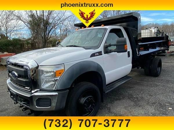 Photo 2011 FORD F-550 f 550 f550 XLT 2DR 4WD diesel NEW MASON DUMP BODY - $34,999 (cnj)