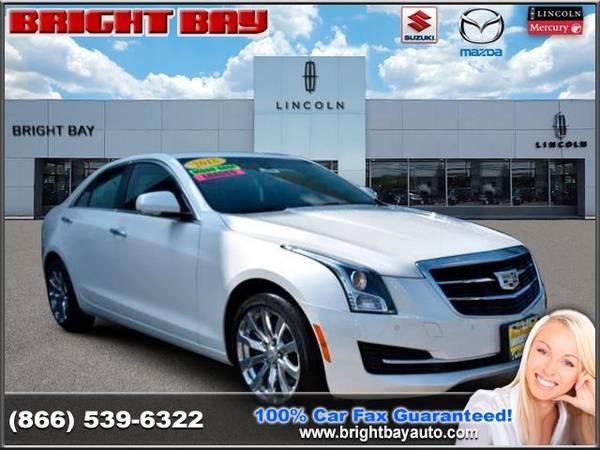 Photo 2018 Cadillac ATS Sedan - YOU WORK YOU DRIVE - $24988 (2018 Cadillac ATS Sedan Bright Bay Says Yes)