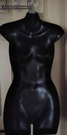 Photo 2D Female Clothing Mannequin black - $45