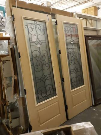 Photo 839 Tall Exterior Double Doors (French Door) - Pella  Thermatru - $1,000 (Bohemia)