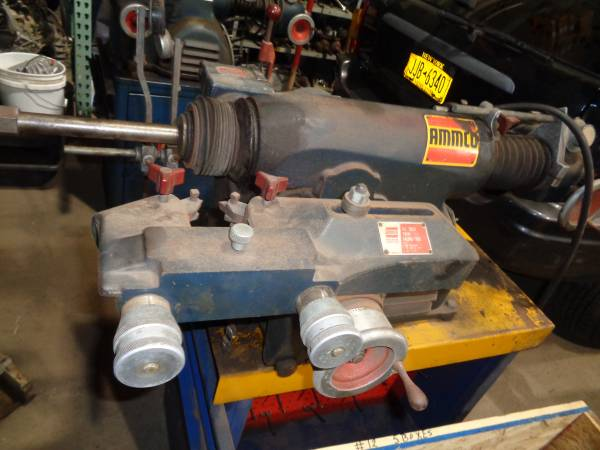 Photo AMMCO BRAKE LATHES (2) 7750  3000 WITH ALL ADAPTERS AND CABINETS - $1,400 (HOLBROOK)