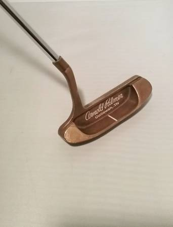 Photo ARNOLD PALMER MODEL B CUSTOM FIT EP RIGHT HAND GOLF PUTTER EXCELLENT - $30 (Sayville, NY)