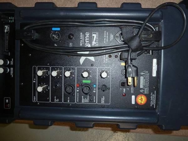 Photo Anchor Audio MPA-5000 Liberty Xtreme Portable pa system aerobics cycli - $100