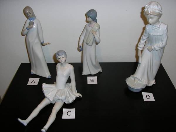 Photo CASADES, LLADRO  NAO PORCELAIN FIGURINES - $50 (Jericho, Nass County)