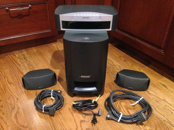 Photo CLEAN Bose 3-2-1 Series 1 DVDCDAMFM Home Theater System - $170 (PortJefferson)