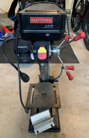 Photo Craftsman 10 Drill Press - $100 (Suffolk County)