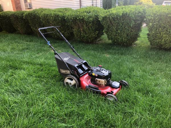 Photo Craftsman Gold 3n1 21 SELF PROPELLED Lawn Mower with Bag  MORE - $200 (Greenlawn)