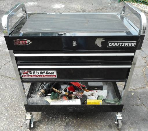 Photo Craftsman Tool Box Cart Dremel Jack Stands - $200 (Seaford)