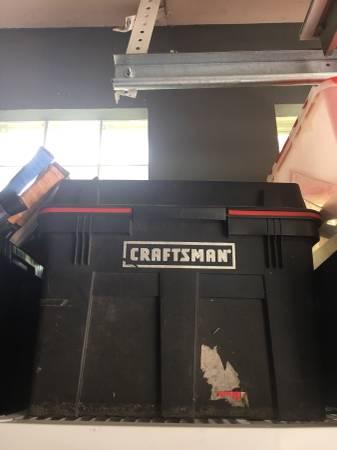 Photo Craftsman rolling tool case - $35 (Syosset)