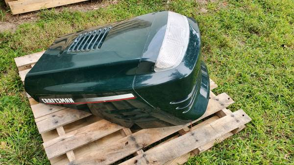 Photo Hood for lawn tractor - Craftsman - $50 (Miller Place)