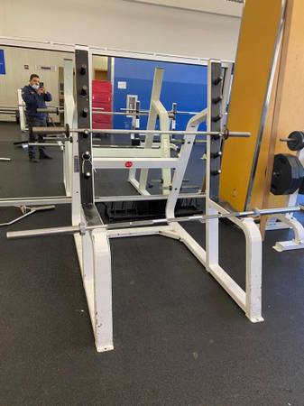 Photo Icarian Squat Rack - $499 (Huntington Station)