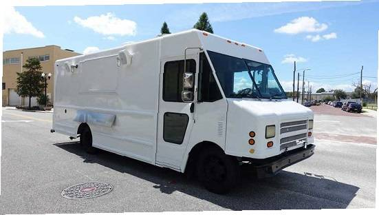 Photo Kitchen Food truck for sale Runs drives well - $11400