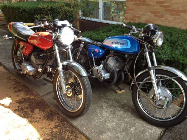 Photo LOOKING FOR OLD RACE MOTORCYCLES - $5 (DEER PARK)