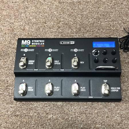Photo Line 6 M9 Stompbox Modeler - $200 (Nesconset)