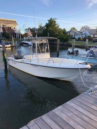 Photo MAKO 224 CENTER CONSOLE CC FISHING BOAT - YAMAHA FOUR STROKE - $14,500 (BABYLON)