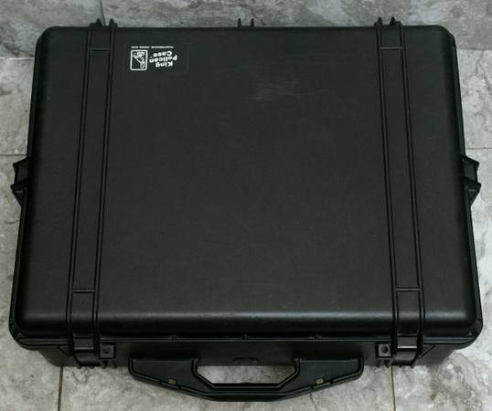 Photo Pelican 1600 KING Case with Foam Mint Condition - $146 (Port Jefferson)