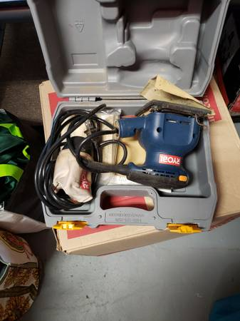 Photo Ryobi palm sander corded - $20 (Shoreham)